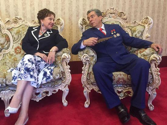 Галина Бокашевская сыграла первую леди Монголии Анастасию Филатову