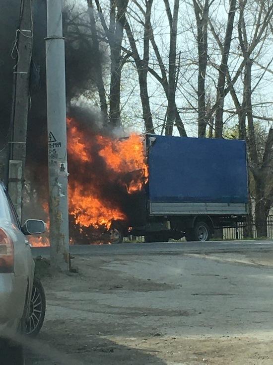 За минувшие сутки в Туле сгорели два автомобиля