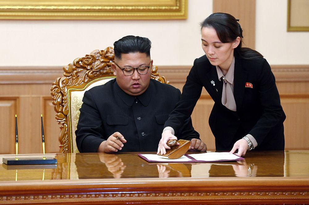 Образы сестры Ким Чен Ына: няша с железным нутром