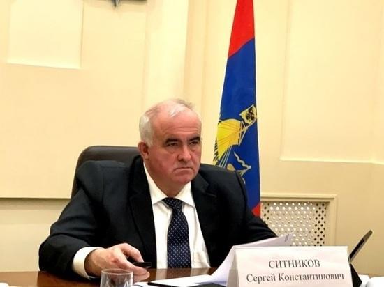 Губернатор Сергей Ситников выбил «кредитные каникулы» для областного бюджета