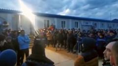 Видео бунта вахтовиков в Якутии обеспокоило власти