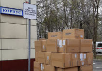 Фонд «Вольное Дело» передал крупную партию средств индивидуальной защиты для двух столичных больниц