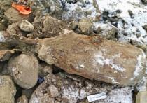 На Нижне-Ростинском шоссе нашли бомбу времён ВОв