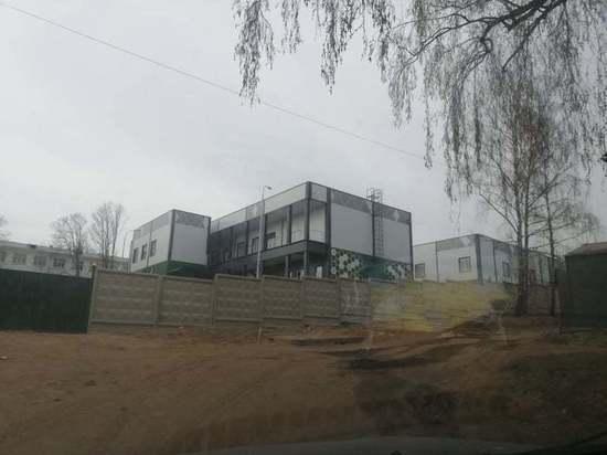 В Смоленске открыли новый инфекционный госпиталь