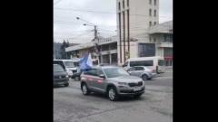 Профсоюз калужского завода провел автомаевку по улицам города