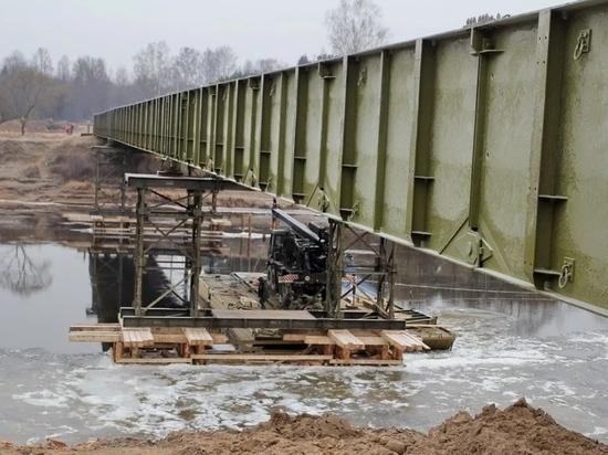 В горах Дагестана установят разборные мосты