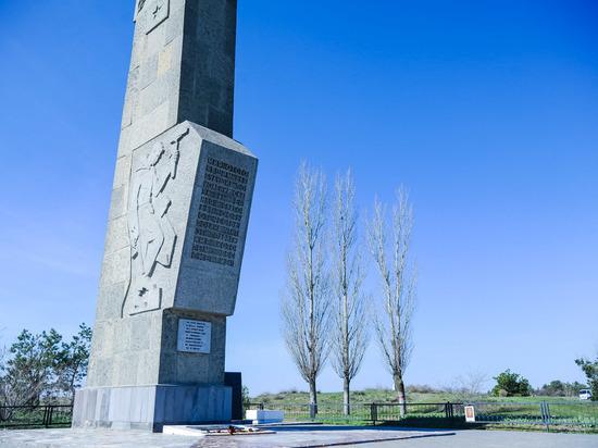 В Волгоградской области приводят в порядок воинские мемориалы