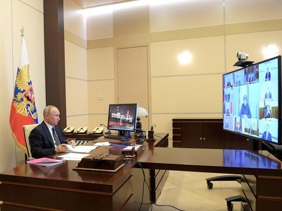 Путина допекли неповоротливые чиновники