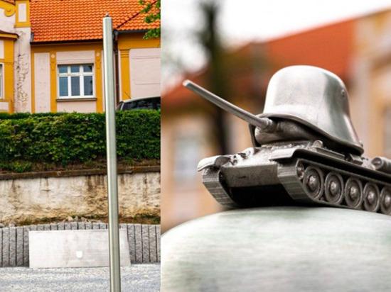 В Праге установили памятник бойцам РОА
