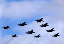 Росавиация объявила план тренировок воздушного парада над Москвой