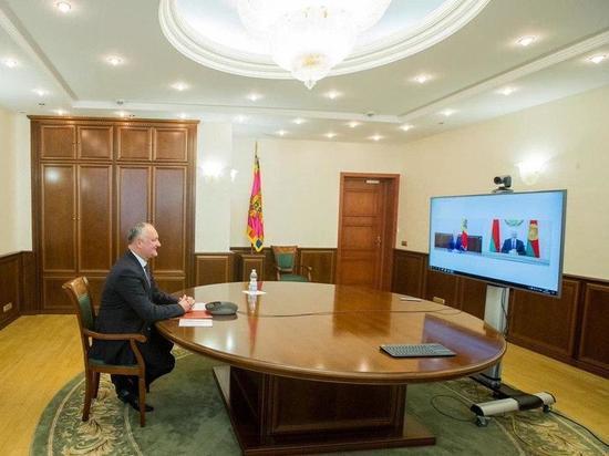 О чем говорил Игорь Додон с Александром Лукашенко