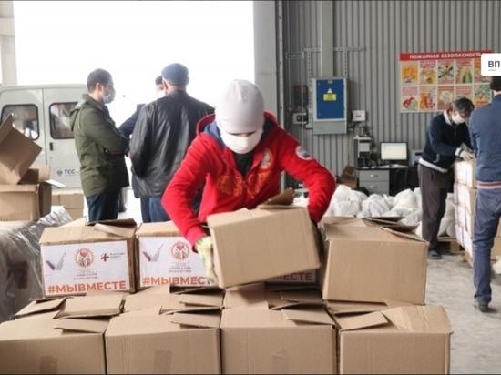 20 тысяч дагестанцев получат продукты бесплатно