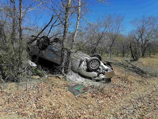 В Бурятии опрокинулся «Субару», водитель получил травмы
