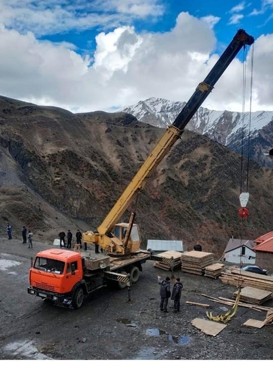 В горах Дагестана продолжают строить школы