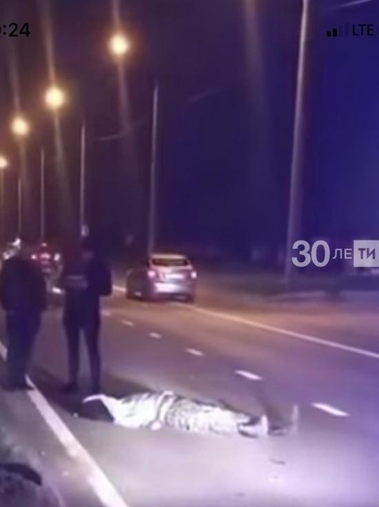 В Казани байкер налетел на поребрик и погиб