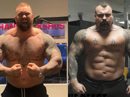 Два самых сильных человека встретятся в ринге
