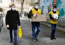 Глава «Справедливой России» в Копейске Дмитрий Сумин доставил маски и перчатки  в детские сады