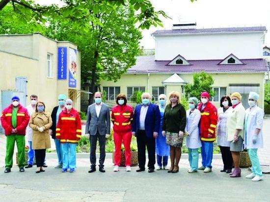 Во вторник генпримар столицы посетил больницу «Святой Архангел Михаил»