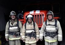 В Бурятии на пожаре спасли двух женщин