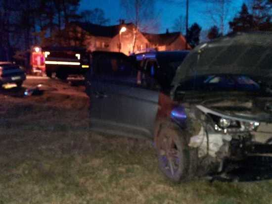 В Вычегодском водитель устроил ДТП и сбежал с места аварии