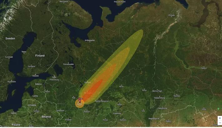Опубликовано фото «последствий термоядерного удара по Москве»