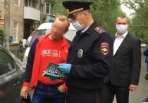 Саратовские полицейские за пару минут вычислили и оштрафовали