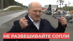 """Слова Лукашенко о """"распущенных соплях"""" с коронавирусом попали на видео"""