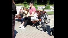 Конфликт актрисы Банщиковой с полицейскими и казаком попал на видео