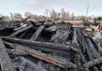 В крупном пожаре в Климковке погиб мужчина