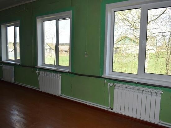 В школе Тверской области меняют систему отопления