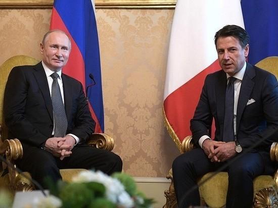 Конте отметил профессионализм российских военных и медиков