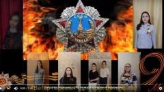 Вокалисты Серпухова поздравили ветеранов с Днем Победы