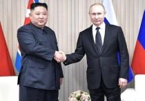 Ким Чен Ын поздравил Путина с 75-летием Победы в ВОВ