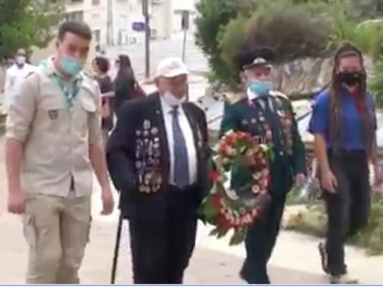 """9 мая в Израиле ветераны и молодежь провели акцию """"Бессмертный полк"""""""