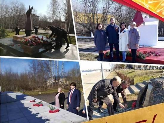 В Архангельске состоялось возложение цветов