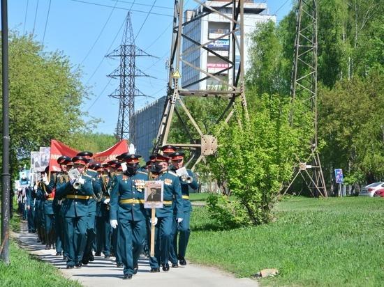 Военный оркестр сыграл новосибирцам «День Победы»