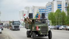 Николай Любимов опубликовал видео парада в Рязани