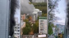 Все видео пожара из больницы с коронавирусом: погиб пациент