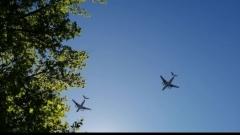 В День Победы над Оренбургом пролетели самолеты