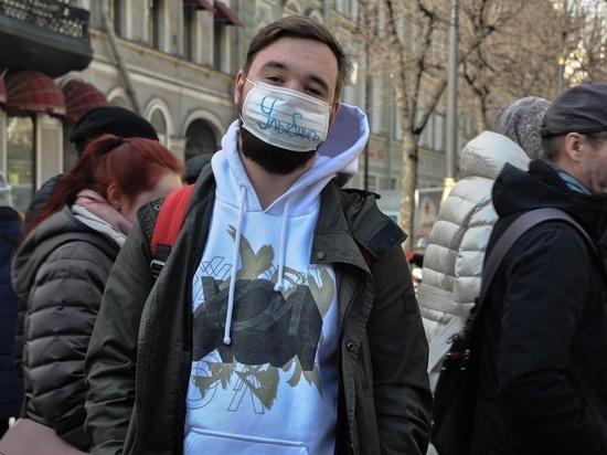 В Петербурге ввели обязательный масочный и перчаточный режимы