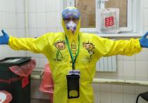 Столичный волонтер рассказал о работе в красной зоне больницы