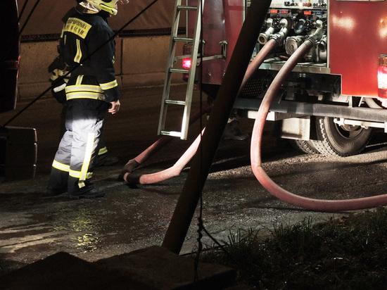 СК назвал предварительную причину пожара в Красногорске