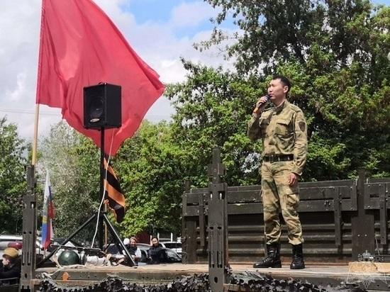 Калмыцкие «Фронтовые бригады» поздравили ветеранов войны
