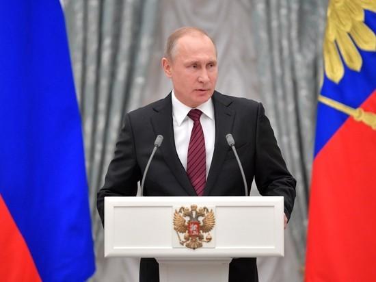 Путин выступит во второй половине дня с обращением