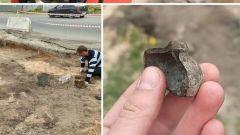 Археологи нашли часть древнего сосуда