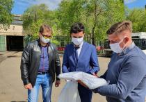 В Воронеже введен запрет на передвижение в общественном транспорте без лицевых масок