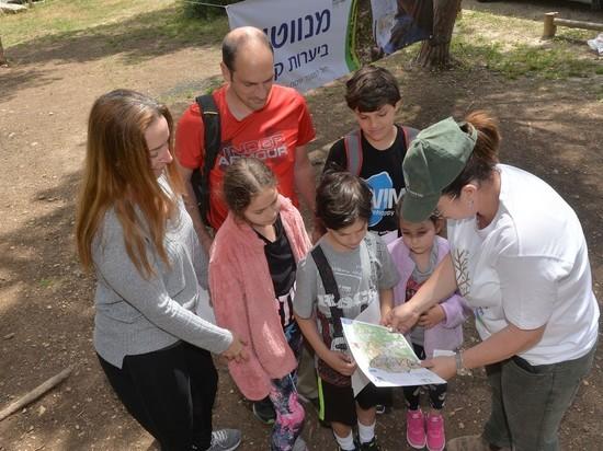 Израиль возвращается в леса и парки ЕНФ-ККЛ!