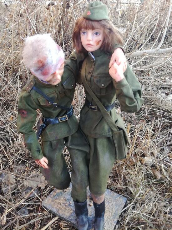 В Алматы пройдет выставка военных кукол в честь 75-летия Великой Победы