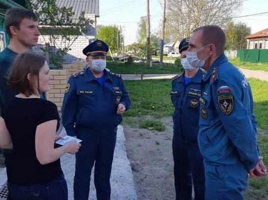 Супруги из Ворсмы награждены за спасение людей на пожаре