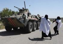 Боевики в Сирии надели женские платья ради антироссийской провокации